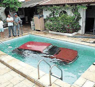 car-in-the-pool